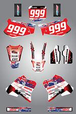 Full  Custom Graphic  Kit -AUSSIE PRIDE - HONDA CR 125 1995 / 1997 stickers