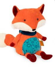 B Happy Yappies Pipsqueak Fox Plush Stuffed Animal Infant Baby 10 mon + Repeats
