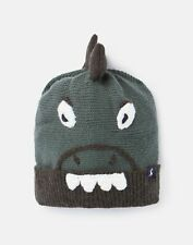 Joules Boys Chummy Hat Character Hat - Green Dino