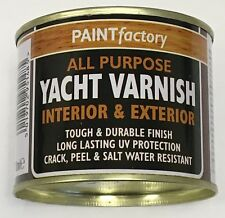 1 x Yacht Varnish All Purpose Household DIY Paint 170ml Can!!