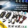 35W 55W H1 H4 H7 H8 9005/6 Car HID Xenon Light Headlight Bulb Ballast Kit DC12V