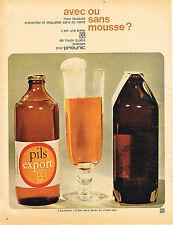 PUBLICITE  1967   PRISUNIC   bière PILS EXPORT