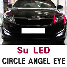 LED Circle Angel Eye DIY Kit For 11 12 Kia Optima K5