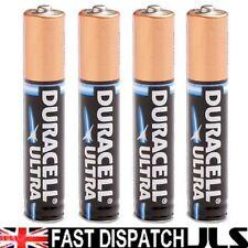 4 AAAA DURACELL ULTRA M3 Batteries  MN2500 JABRA E96