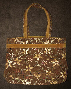 Carenac Large Carpet Bag Mary Poppins Style