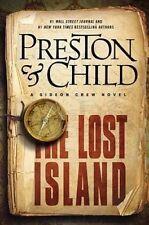 LOST ISLAND, THE - Preston & Child (Hardcover, 2014, Free Postage)