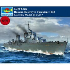 Trumpeter 05357 1/350 Scale Russian Destroyer Taszkient 1942 Assembly Model Kits