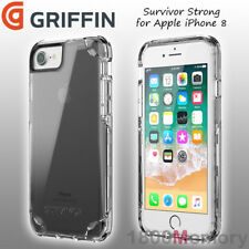 """GENUINE Griffin Survivor Strong Case Clear Cover for Apple iPhone 8 7 6 6S 4.7"""""""