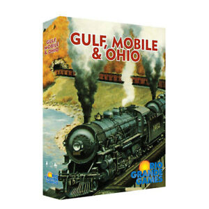 Gulf, Mobile And Ohio Strategy Highly Theme Interactive Contemporary Board Game