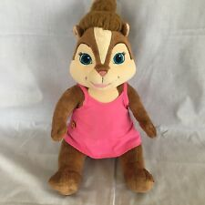 "Build A Bear Chipettes Brittney Alvin Chipmunks Pink Dress 18"" Plush Stuffed Toy"