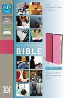 NIV Compact Thinline Bible, Hot Pink/Bubble Gum Duo-Tone, Limited Edition NEW!!!