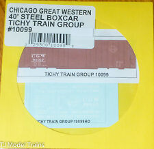 Tichy Train Group #10099 Decal for:Chicago Great Western 40' Single-Door Boxcar