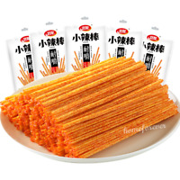 5 Bags Weilong Xiaolabang Hotstrips Spicy Latiao Chinese Snacks 卫龙小辣棒辣条中国特产