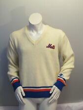 New York Mets Sweater (VTG) - Stitched Script by Starter - Men's Large
