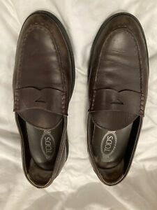 tods mens shoes brown size 9 US size 10 Good condition!