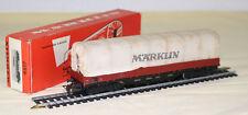 CA-017-16 -- Marklin -- Wagon tombereau bâché référence 4517
