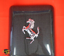 Ferrari 360 Carbon Fiber Coolant Tank Reservoir Cover with Cavallino