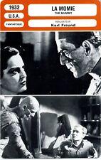 Movie Card Fiche Cinéma. La Momie/The Mummy (USA) Karl Frund 1932