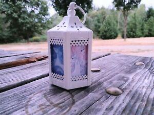 The Last Unicorn White Metal Lantern