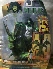 "Hasbro Marvel Legends Avengers 6"" She Hulk Action Figure DAMAGE BACK"