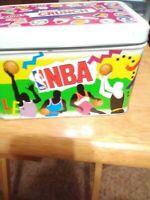 Vintage 1992 NBA Nestle Crunch Collector's Tin
