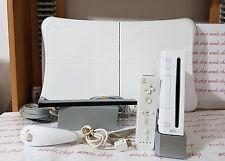 nintendo wii console 100 GIOCHI con pad + WII FIT BALANCE-BOARD Pedana +nunchuck