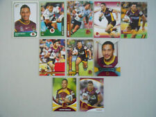 Lot Brisbane Broncos Original NRL & Rugby League Trading Cards