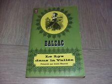 LE LYS DANS LA VALLEE / HONORE DE BALZAC