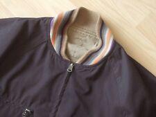 Paul Smith Men's Linen Cotton Blend Reversible Bomber Harrington Jacket (UKS)