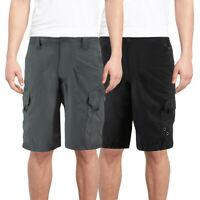 Burnside Men's Quick Dry Cargo Swim Board Shorts Beach Slim Fit Surf Trunks