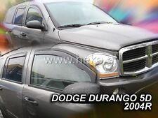 HEKO Windabweiser DODGE DURANGO 5türig ab 2004 2teilig Regenabweiser 13406
