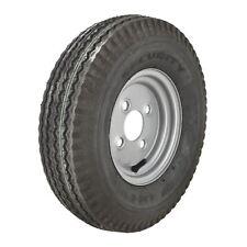 4.00 x 8 100mm PCD 6 PLY Trailer Tyre Wheel Rim 4 Stud Tubeless 70N TRSP22