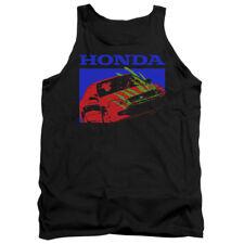 Honda Tanktop Bold Civic Coupe Black Tank