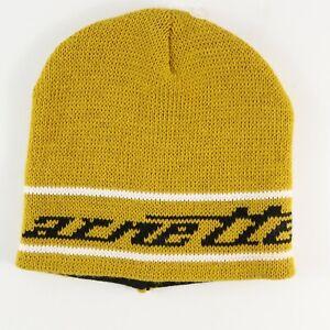 Arnette Beanie Hat One Size Yellow