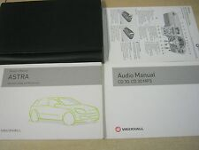 VAUXHALL ASTRA OWNERS MANUAL HANDBOOK  2004-2009 WALLET AND AUDIO CD30