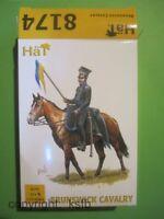 1:72 HäT 8174 Napoleon Deutschland Braunschweig Kavallerie Brunswick cavalry
