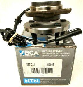 NEW NTN ~ BCA ~ Wheel Bearing and Hub Assembly Front Bearing - WE61221