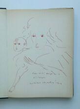 Disegno originale REMO BRINDISI Nanda Vigo Salvatore Fiume Ferrara Guttuso Levi