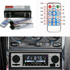 4-channel In-Dash Car Bluetooth Stereo FM Radio MP3 Player with Remote Control