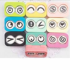 Mini Case Travel Pocket Eye Shape Container Contact Lens Box Eye Case Holder