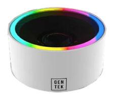 gentek Bluetooth sans fil rond del Portable Haut-parleur (Blanc) 15052