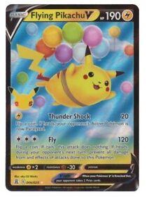 Flying Pikachu V 006/025 25th Anniversary SWSH Celebrations Pokemon Card MINT