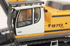 WSI 04-1047 Liebherr R 970 Yellow Crawler Excavator SME 04-1047 1:50 NEW BOXED