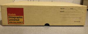 Kodak Ektagraphic Universal Slide Tray Model 2 80 Carousel