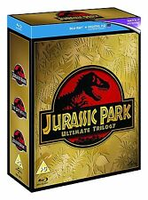 Jurassic Park Ultimate Trilogy 1 + 2 + 3 [Blu-ray] *NEU* DEUTSCH Trilogie 1-3