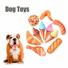 Simulation Ice Cream Vegetable Cake Anti Bite Dog Toys Chew Toys Squeaky Pet Toy