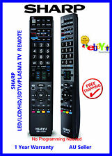 SHARP UNIVERSAL REMOTE for LED/LCD/HD/3D ideal replacement for ALL MODELS