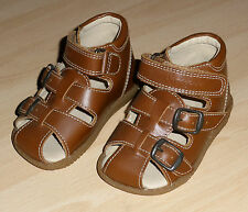 Bundgaard Chaussures Sandales Chaussures Taille 20 Cuir Fermeture Scratch