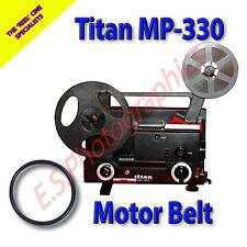TITAN MP-330 Dual 8mm Motor principal cine Proyector Belt (cinturón)