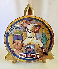1993 Nolan Ryan Birth Of A Legend Baseball Signed Plate Limited Edition w/ Stand